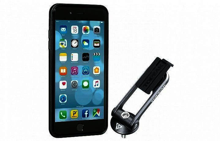 картинка TOPEAK RideCase w/RideCase Mount for iPhone 6 Plus, 6S Plus, 7Plus чехол д/тел. c креплением, black от магазина Eltreco