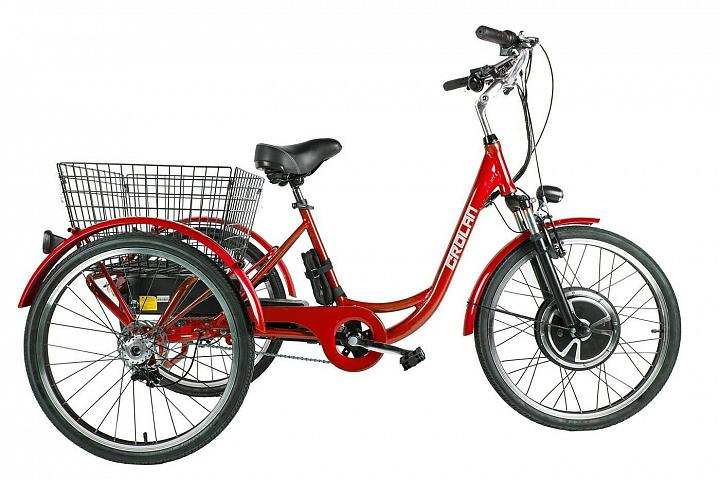 картинка Трицикл CROLAN 500W  от магазина Eltreco